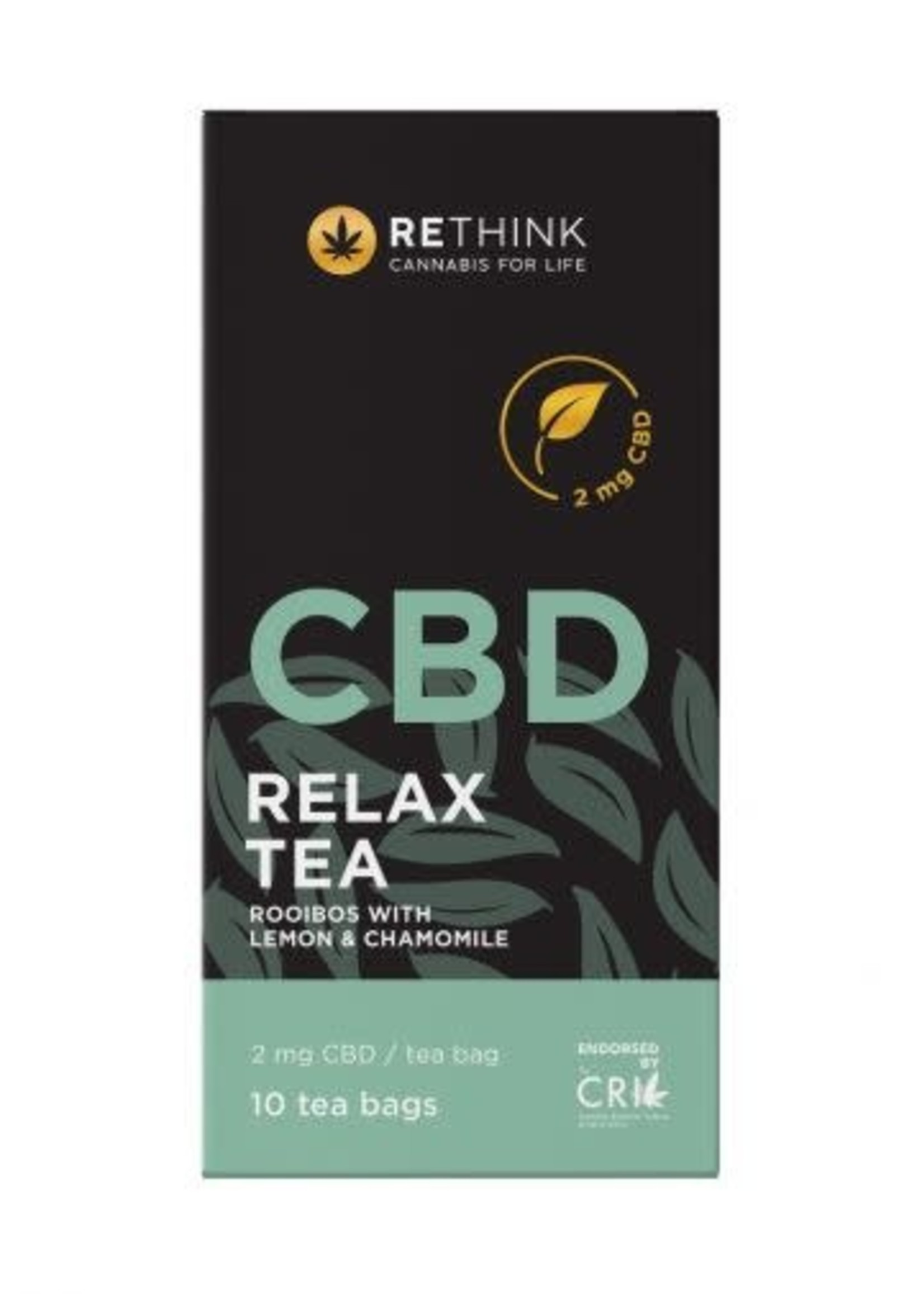 Rethink CBD Relax tea