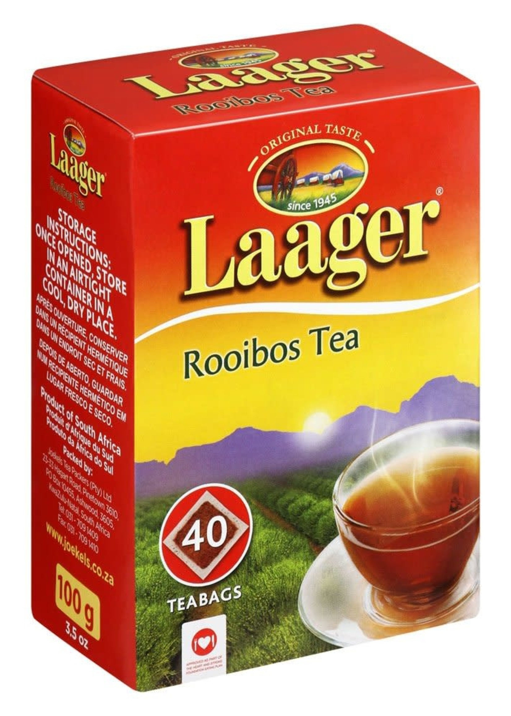 Laager Pure rooibos tea
