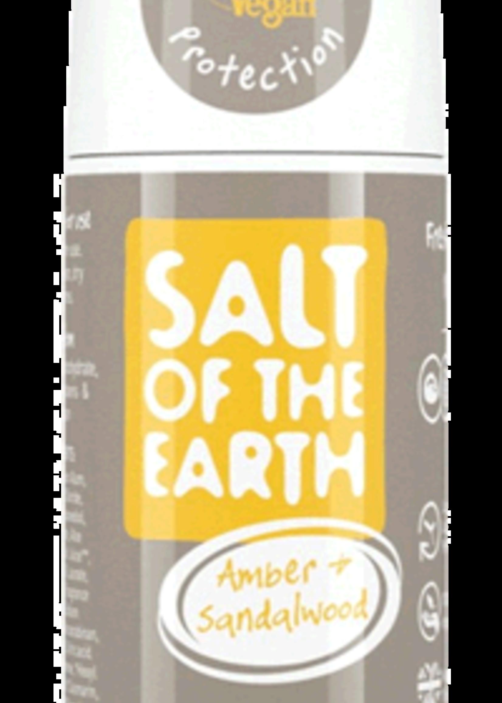 Deodorant roll-on - Amber & sandalwood