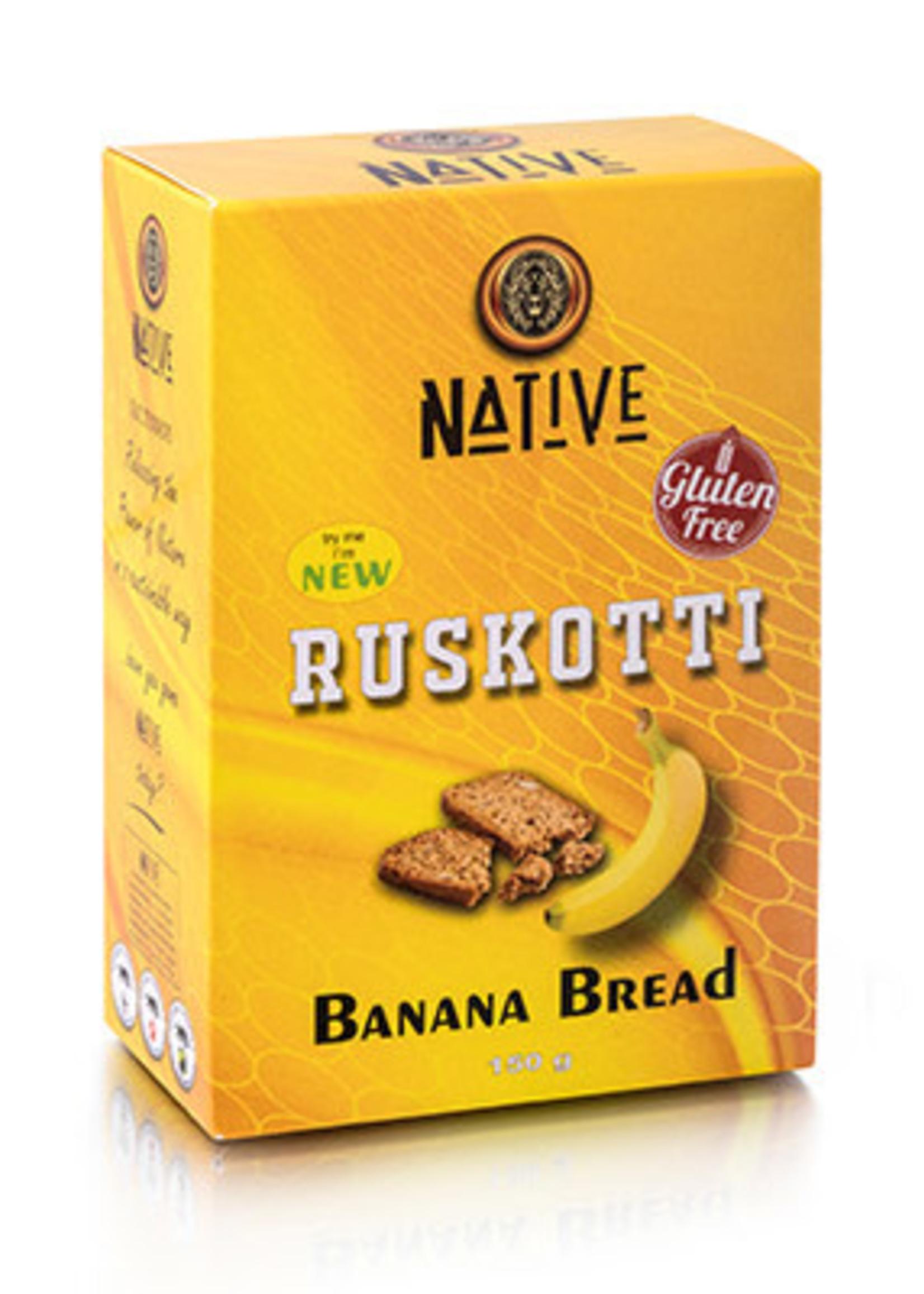 Native Native - Ruskotti- Banana Bread 150g