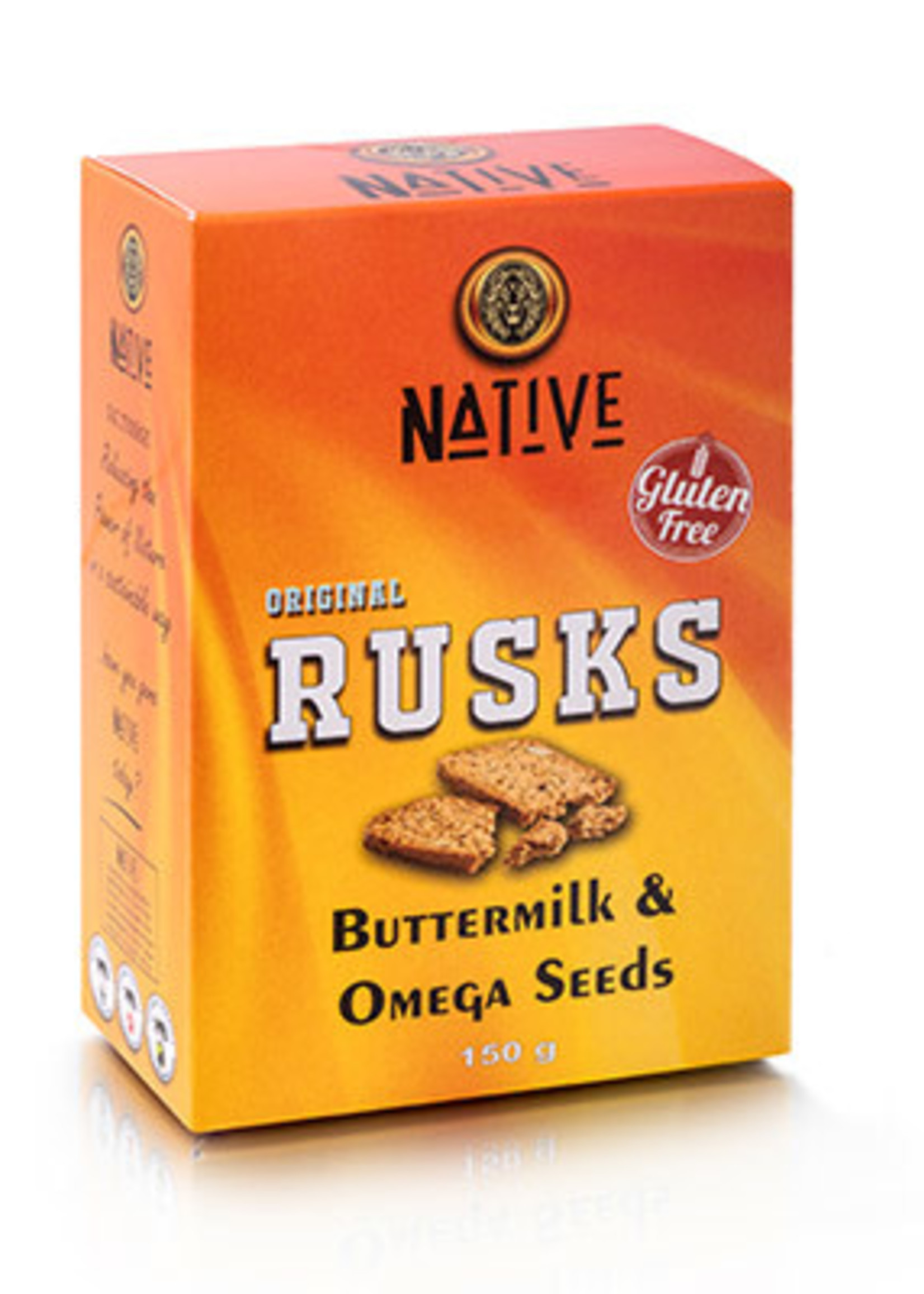 Native Native - Ruskotti- Buttermilk & Omega Seed 150g