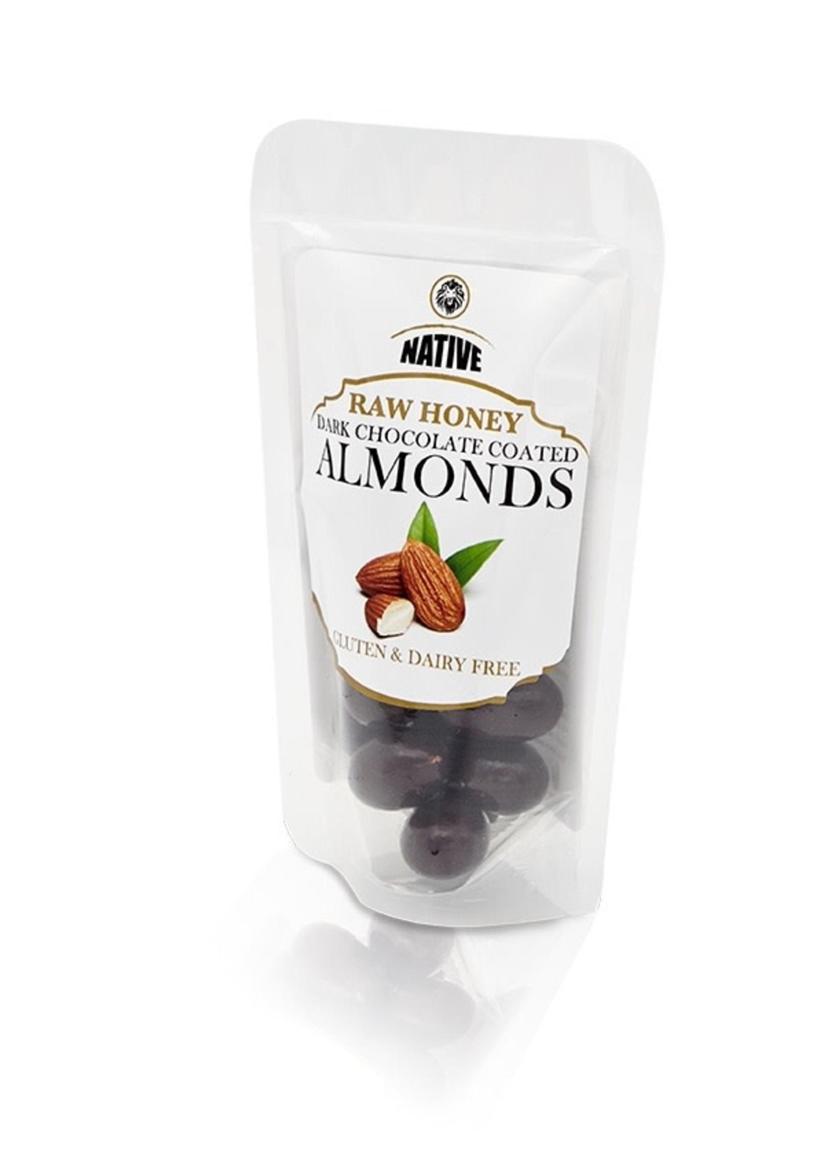 Native Native - Almond- Raw Honey & Choc 50g