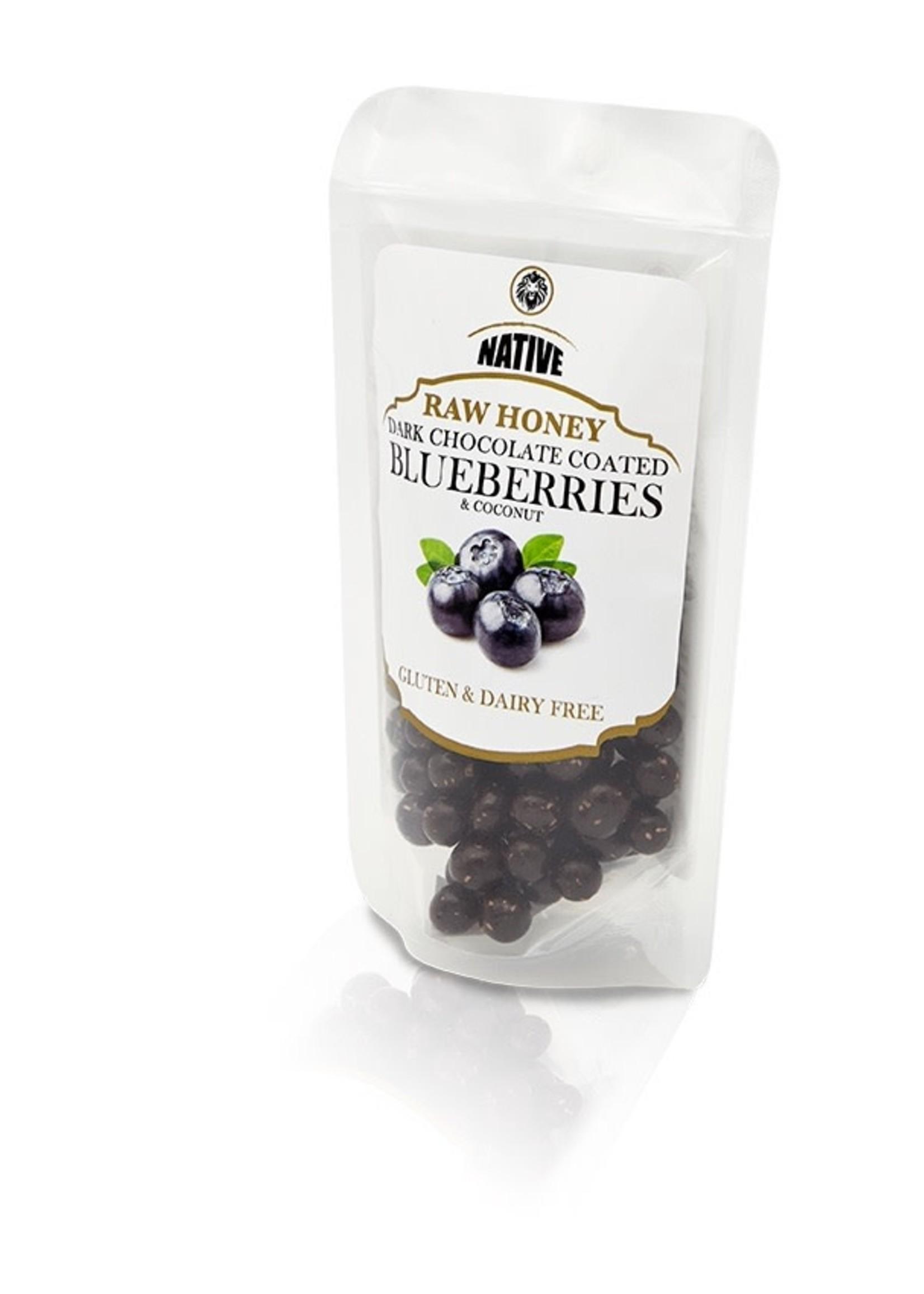 Native Native - Blueberry- Raw Honey & Choc 50g