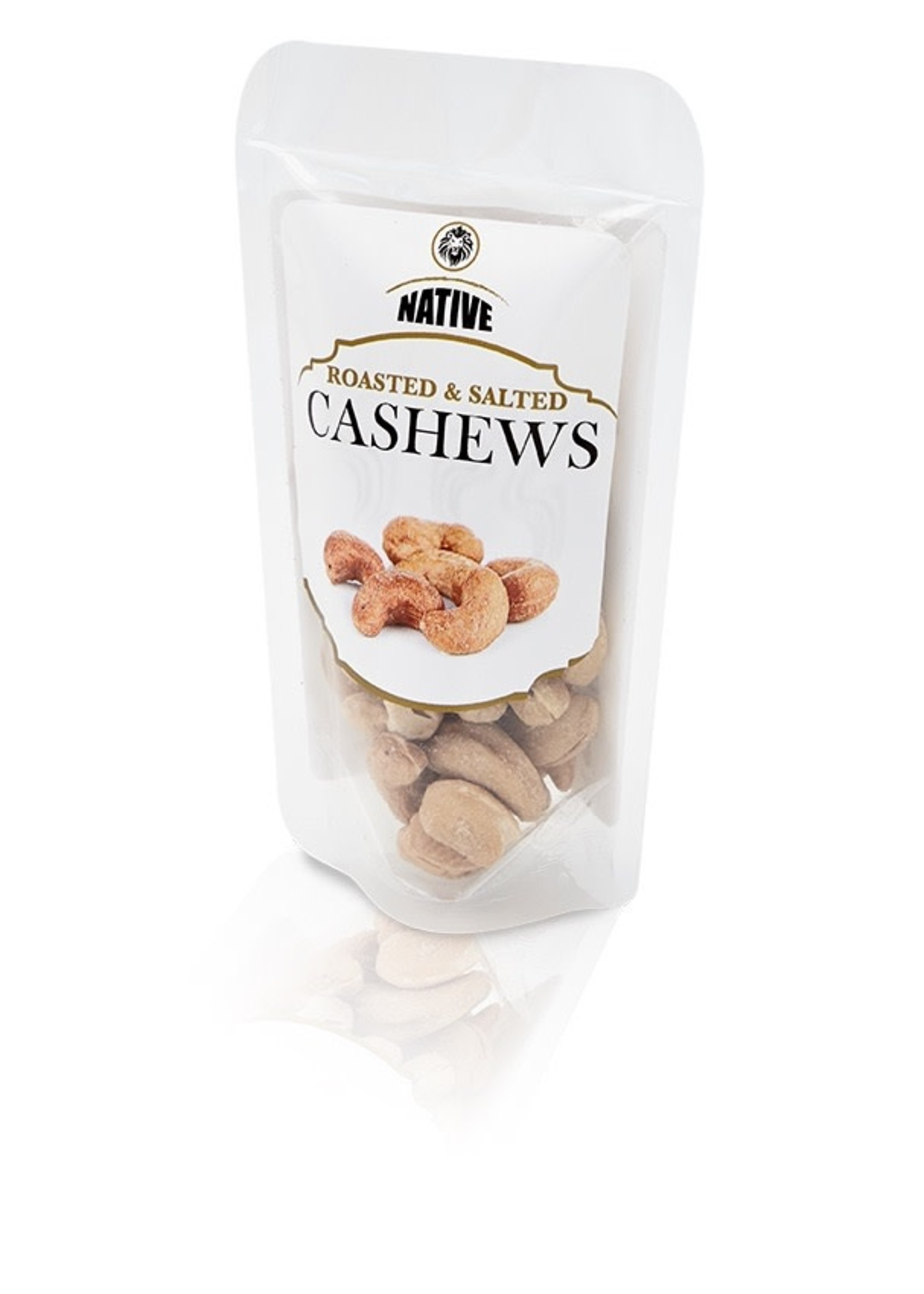 Native Native - Cashew- Roasted & Salted 50g