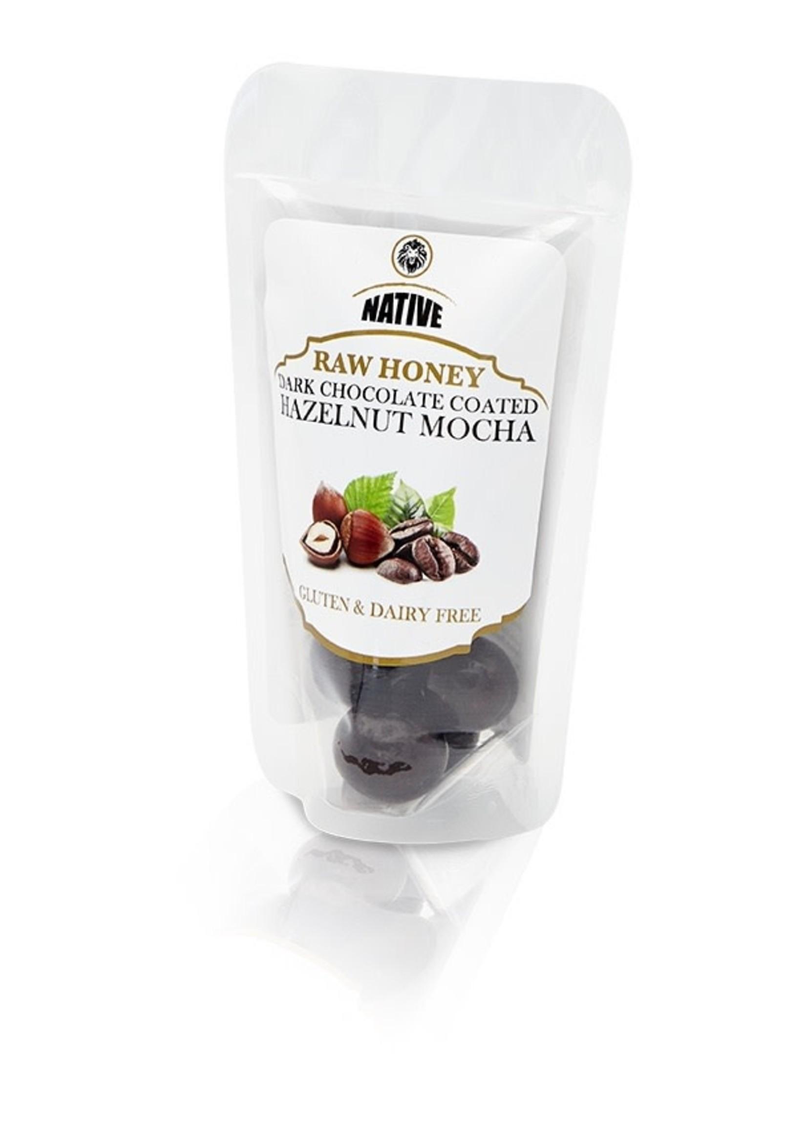 Native Native - Hazelnut Mocha- Raw Honey & Choc 50G
