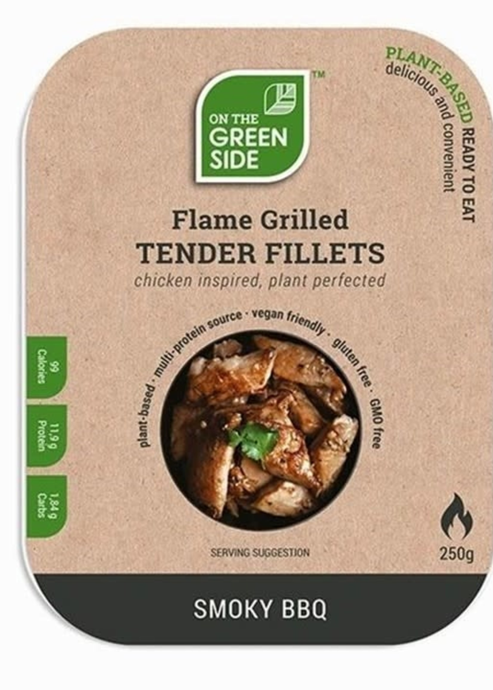 On The Green Side Tender Fillets - smoky BBQ 250g