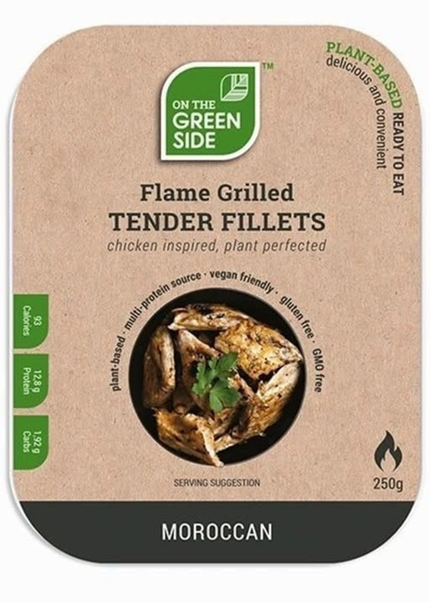 On The Green Side Tender Fillets - moroccan 250g