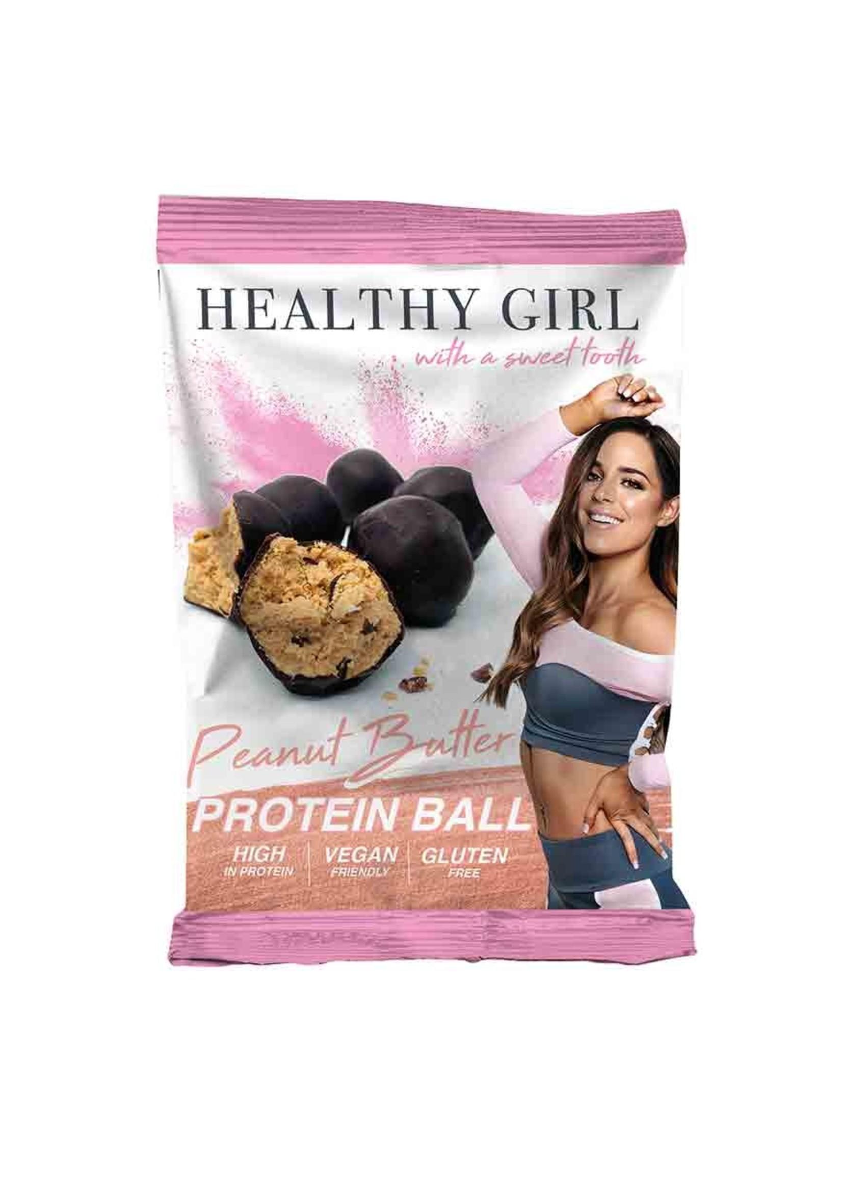 Healthy Girl HG Protein balls - peanut butter