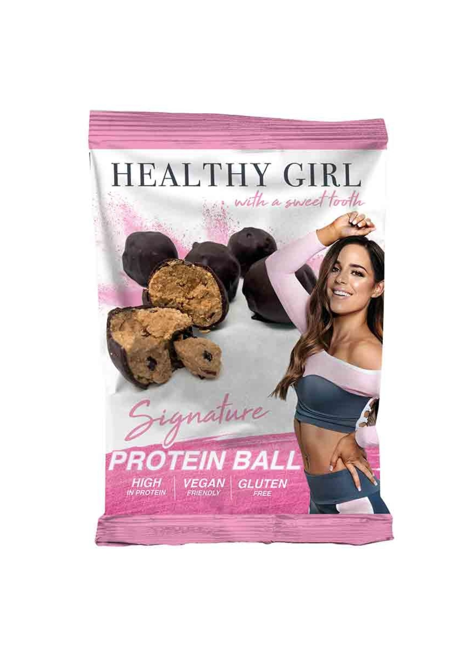 Healthy Girl HG Protein balls - signature