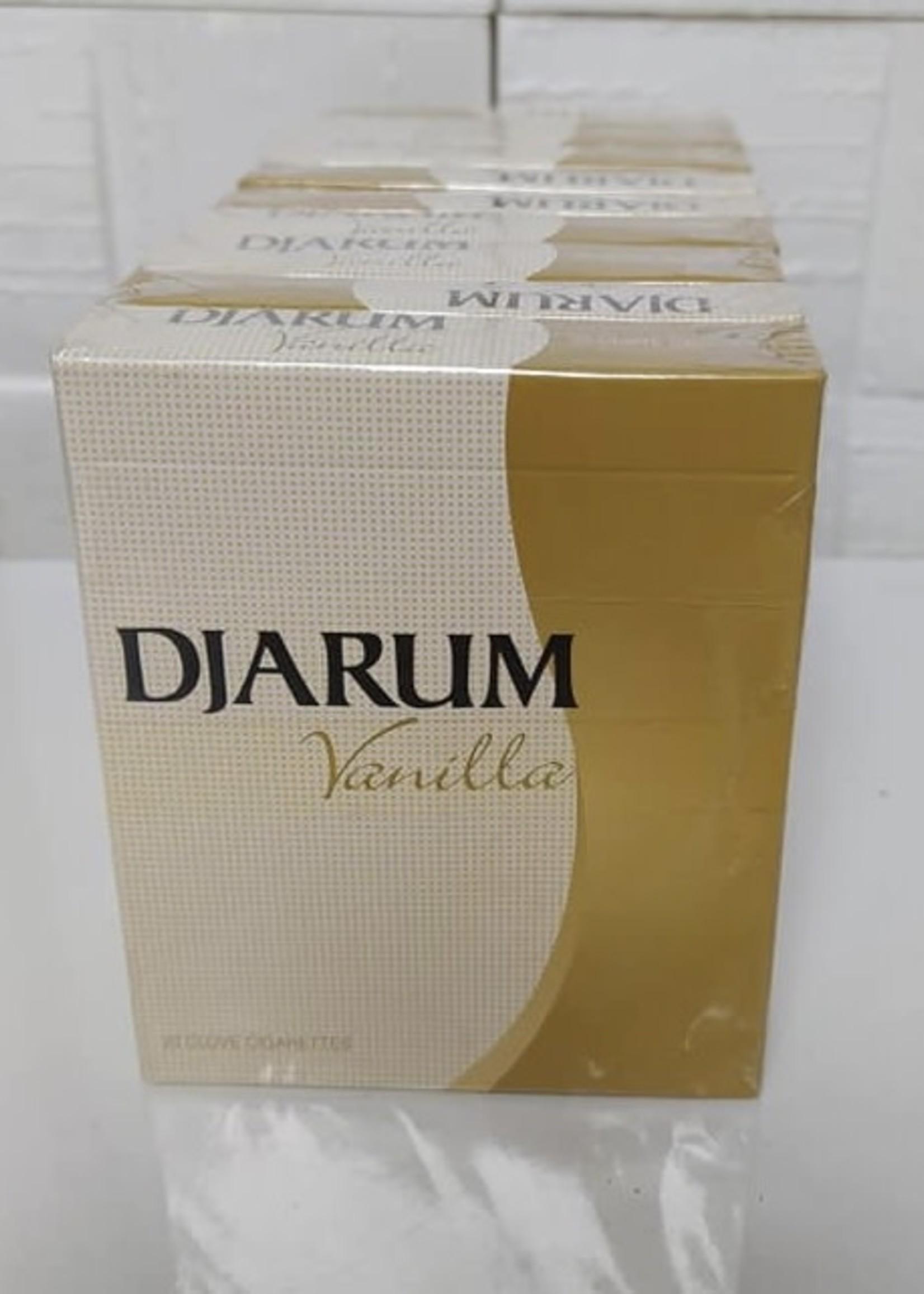 Djarum clove cigarettes - vanilla
