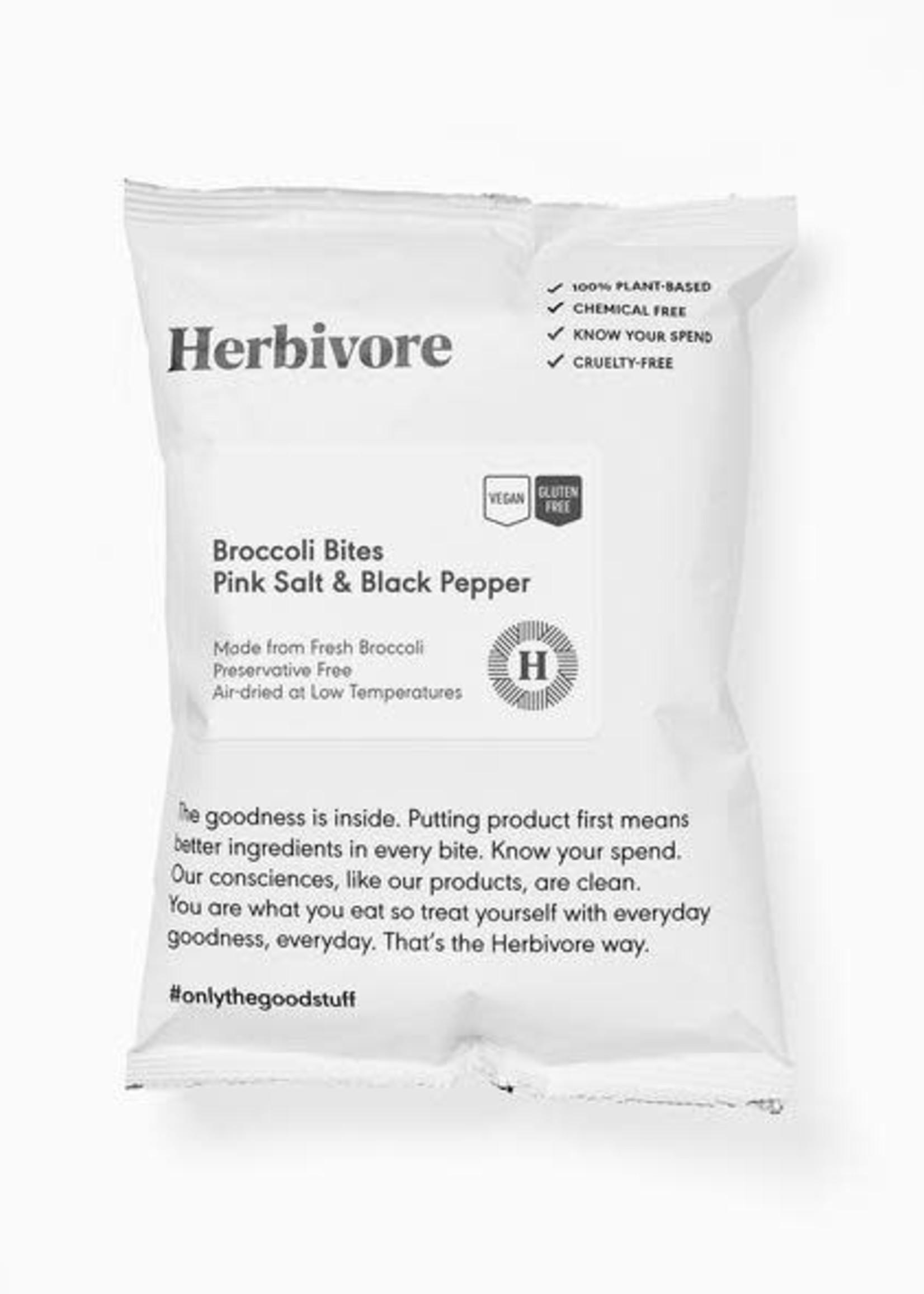 Herbivore - Broccoli Bites pink salt & black pepper