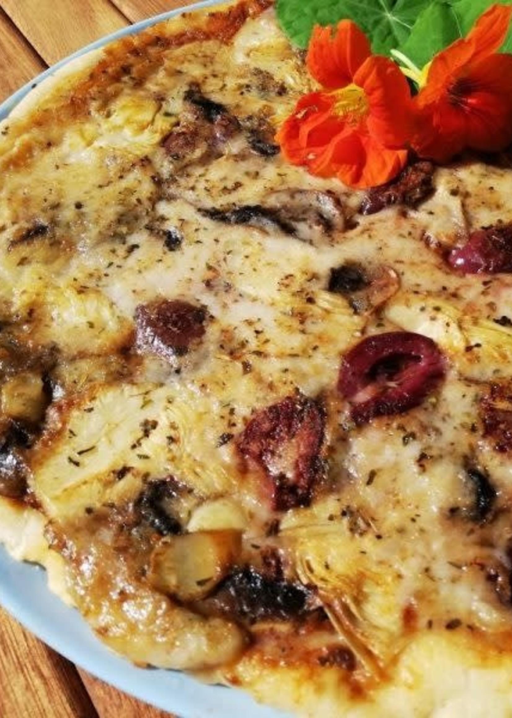 Irene's Irene's - GF Artichoke, olive & mushroom pizza