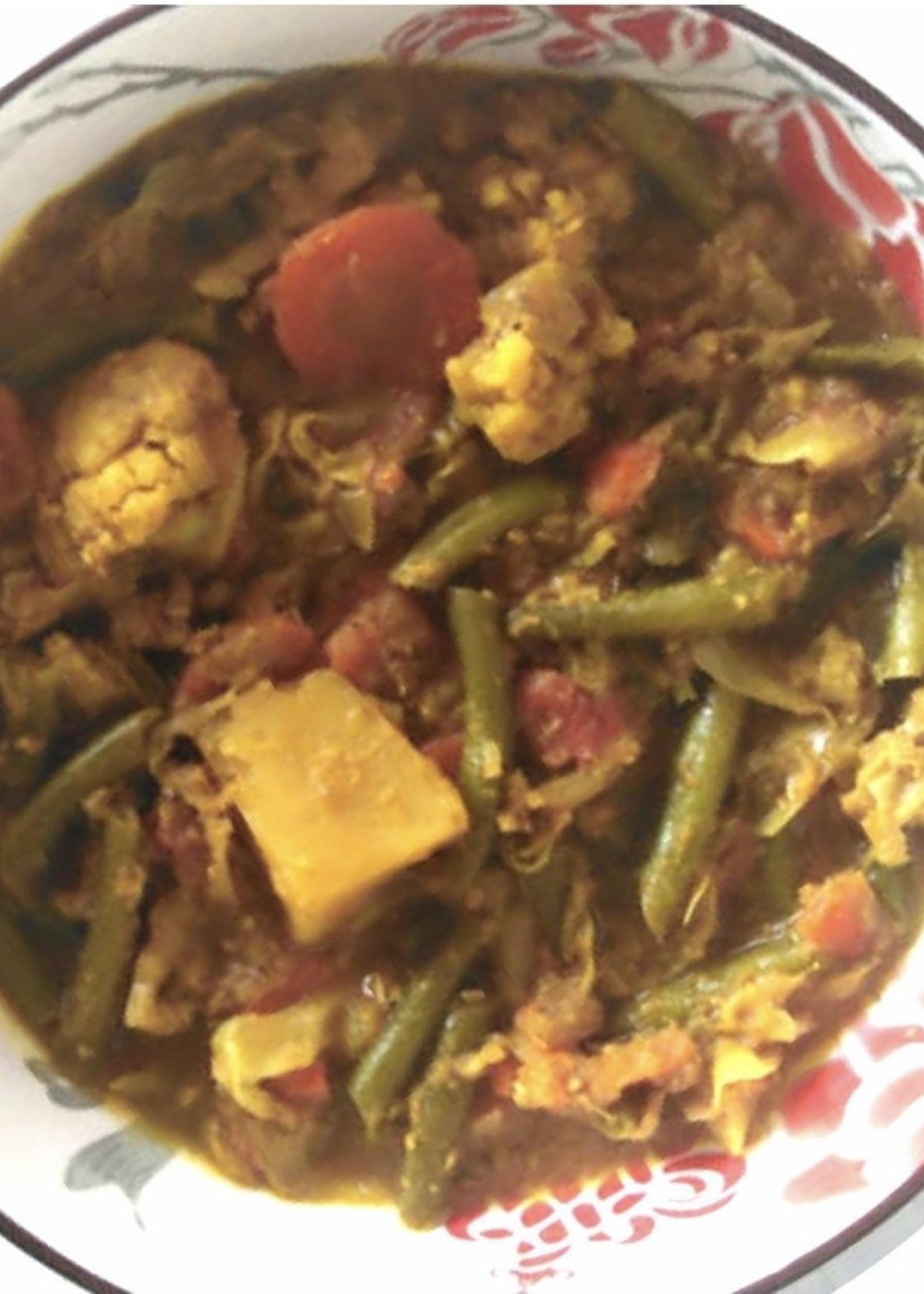 Free Food Free Food - Malay vegetable curry