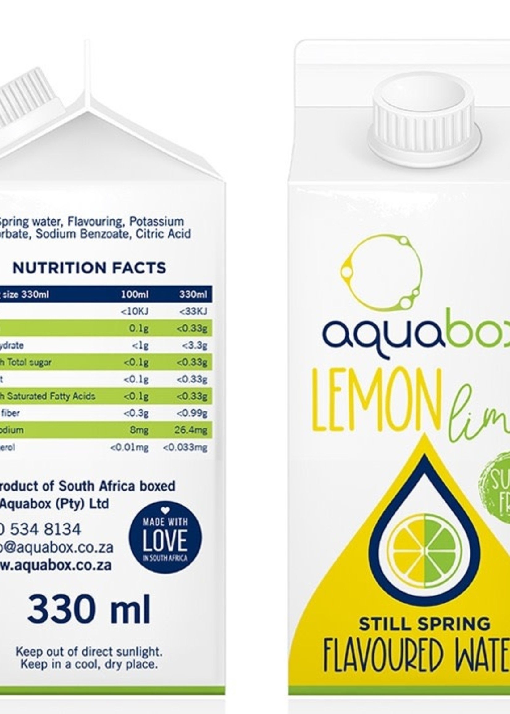 Aquabox Aquabox - Lemon lime
