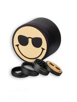 Herb Grinder - Smiley Face