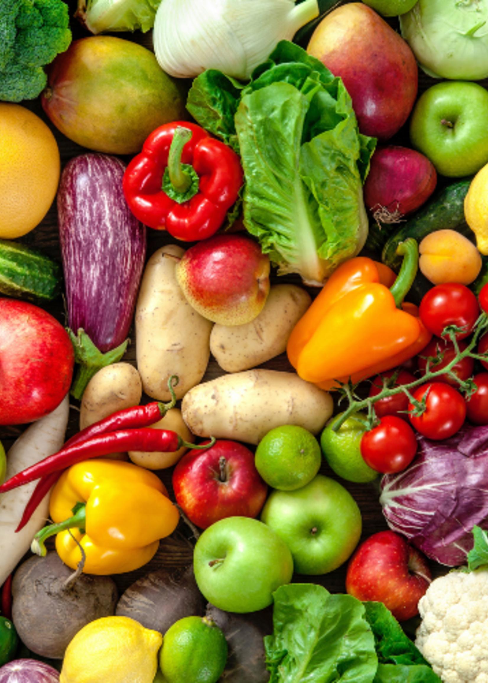 Organic & Air Vegetable Box