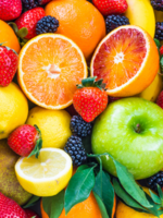 Organic & Air Fruit Box