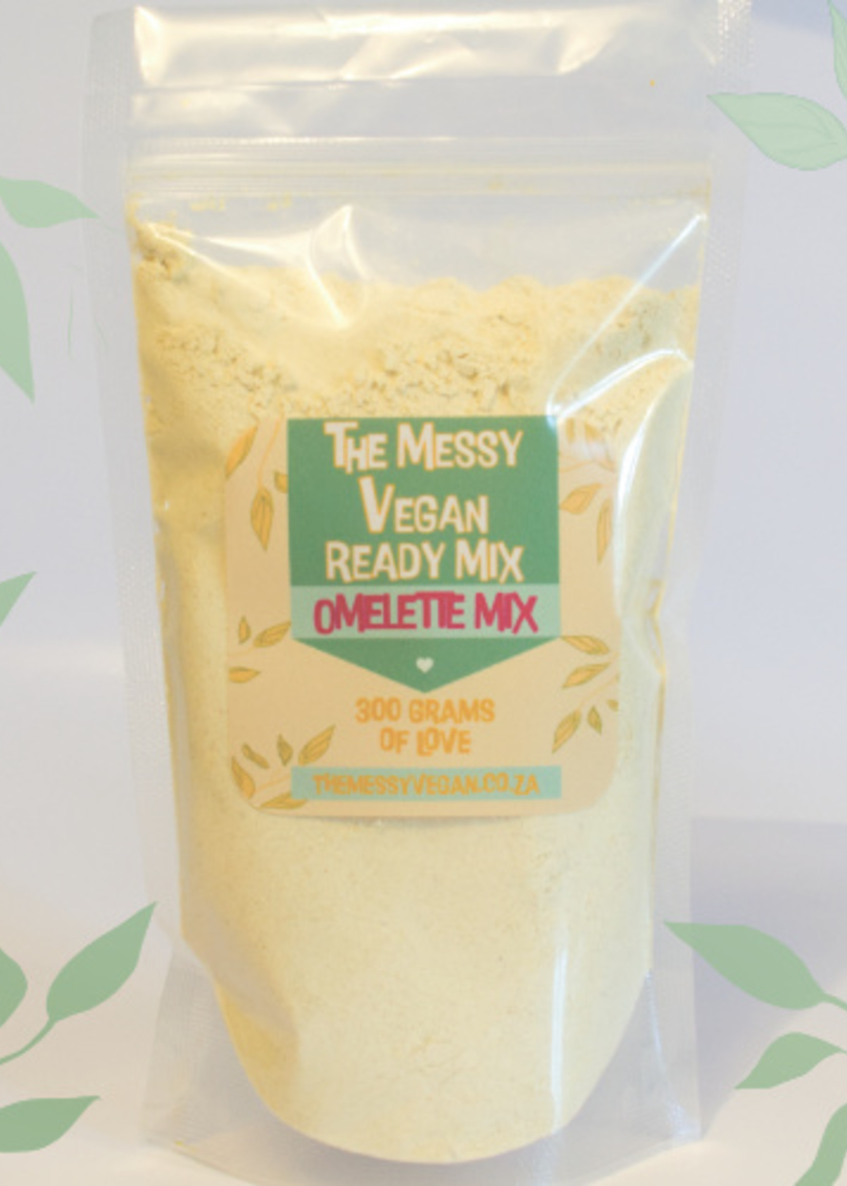 The Messy Vegan Messy Vegan - Egg Free Omelette Mix