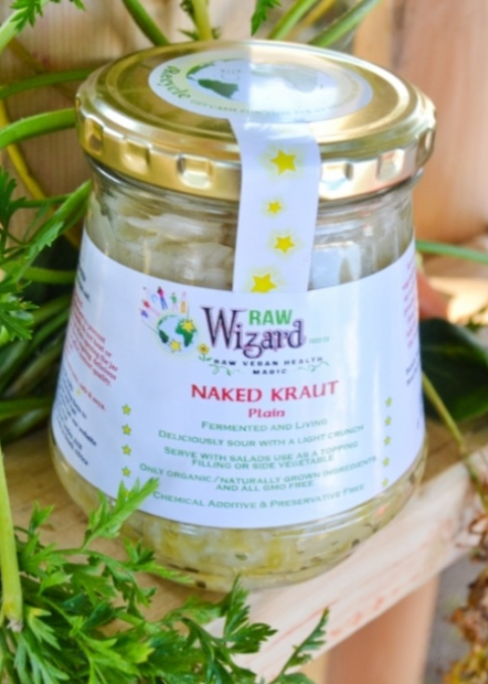Raw Wizard Raw Wizard - Naked kraut