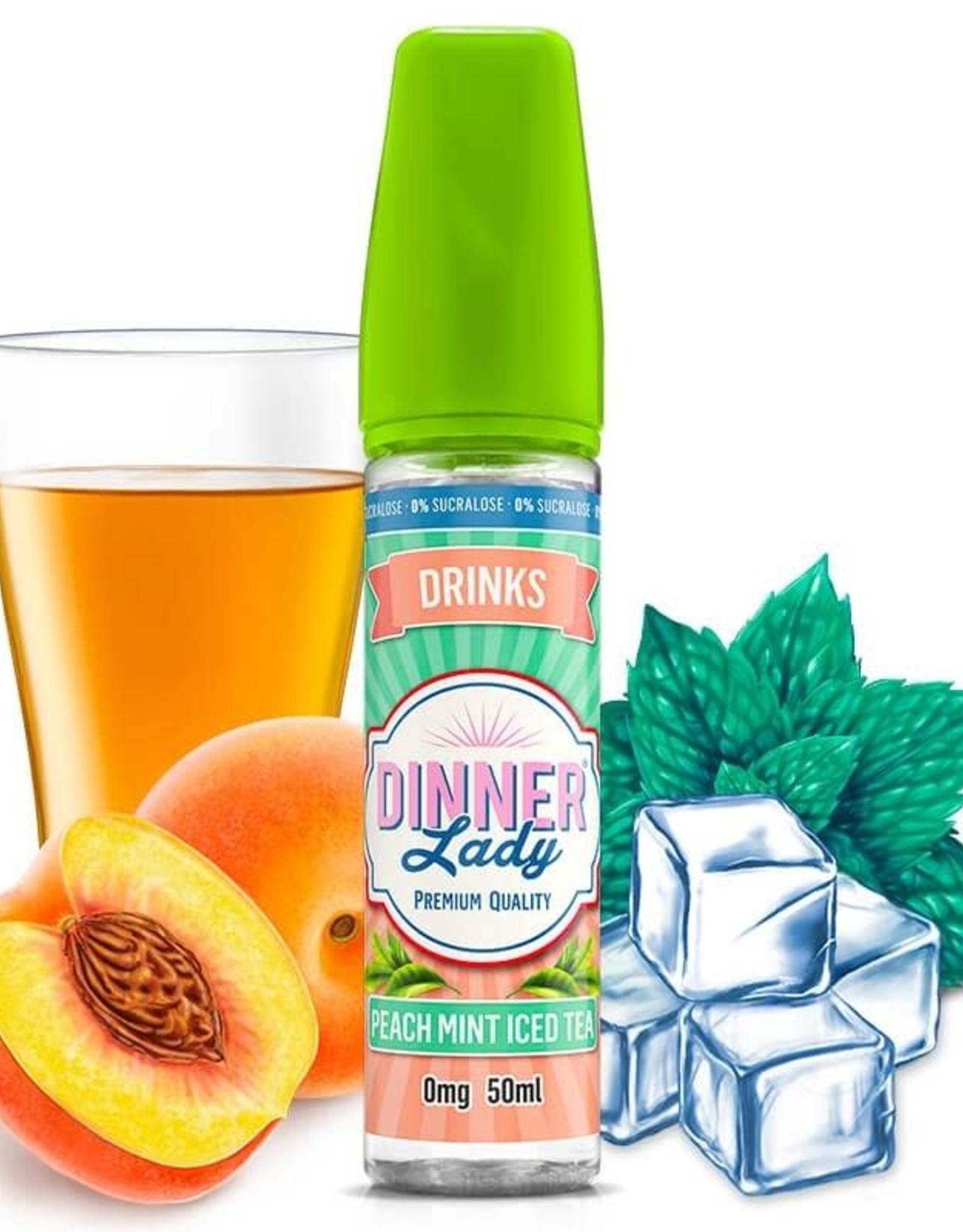 Dinner Lady Dinner Lady - Peach Mint Iced Tea 50ml