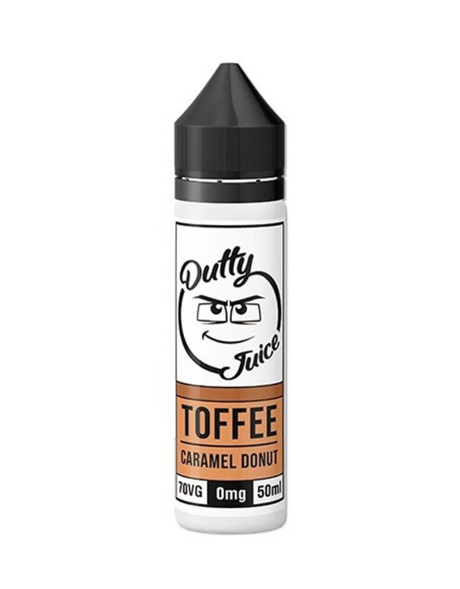Dutty Dutty Juice - Toffee Caramel Donut 50ml