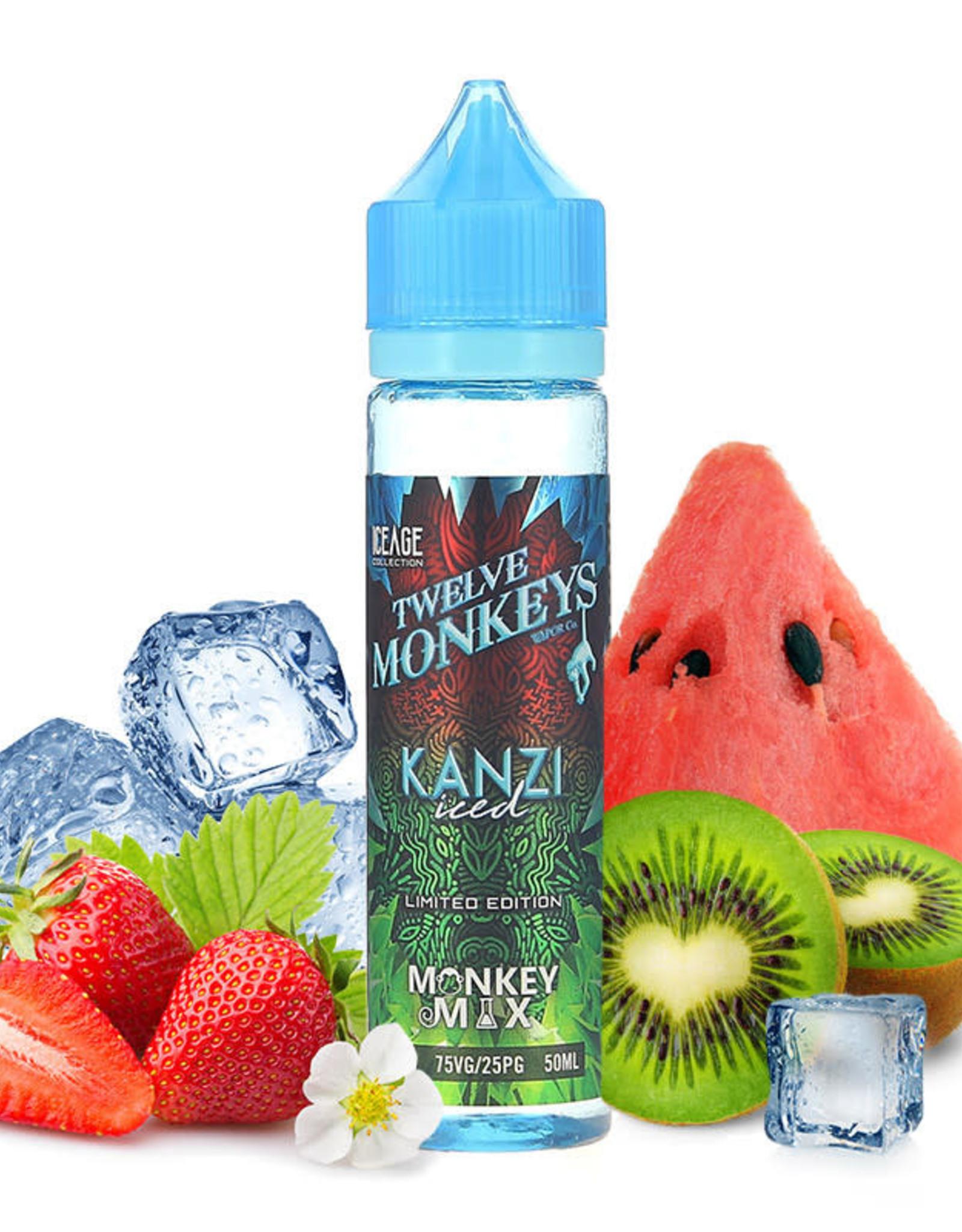 12 Monkeys Twelve Monkeys - Kanzi Iced 50ml