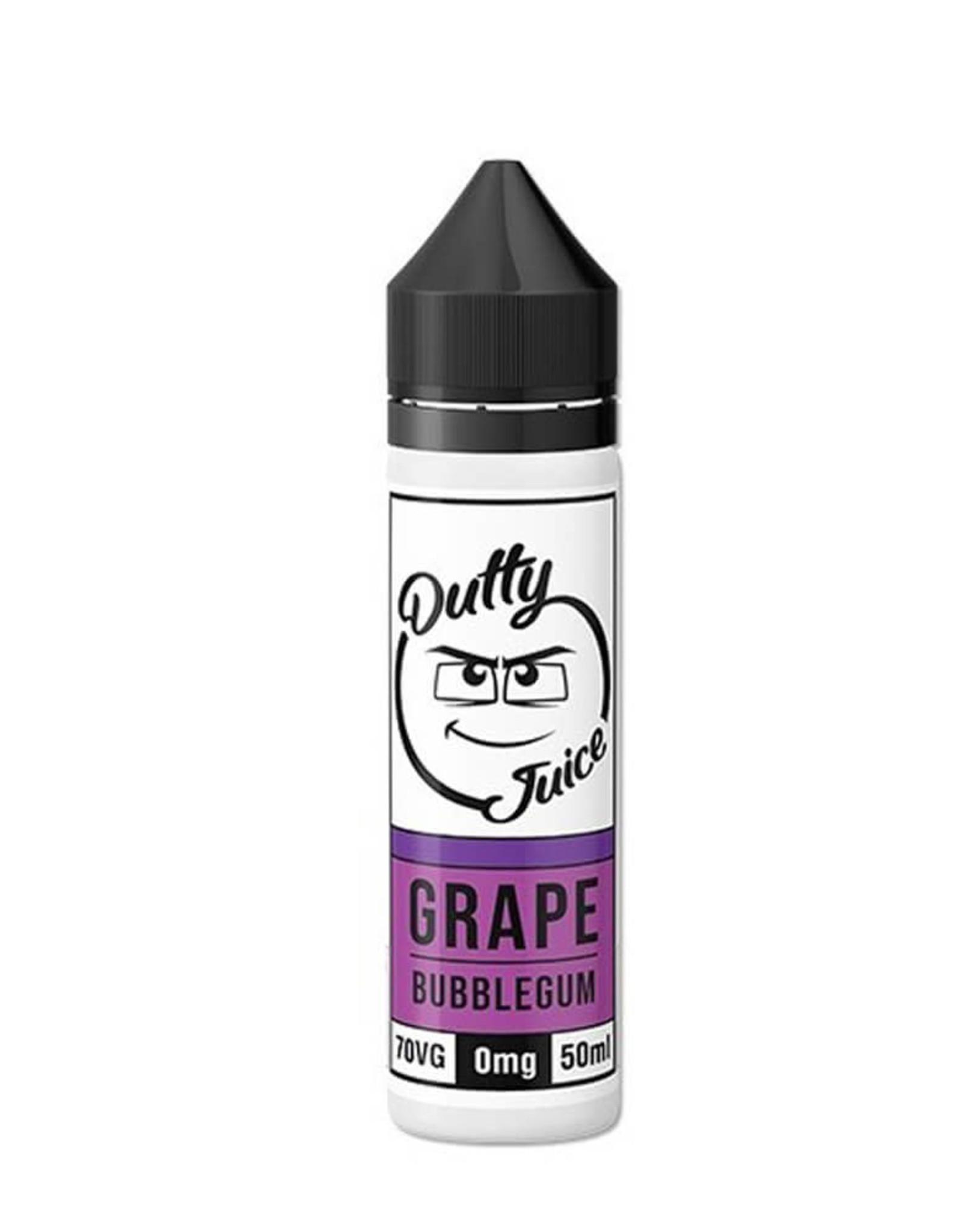 Dutty Dutty Juice - Grape Bubblegum 50ml