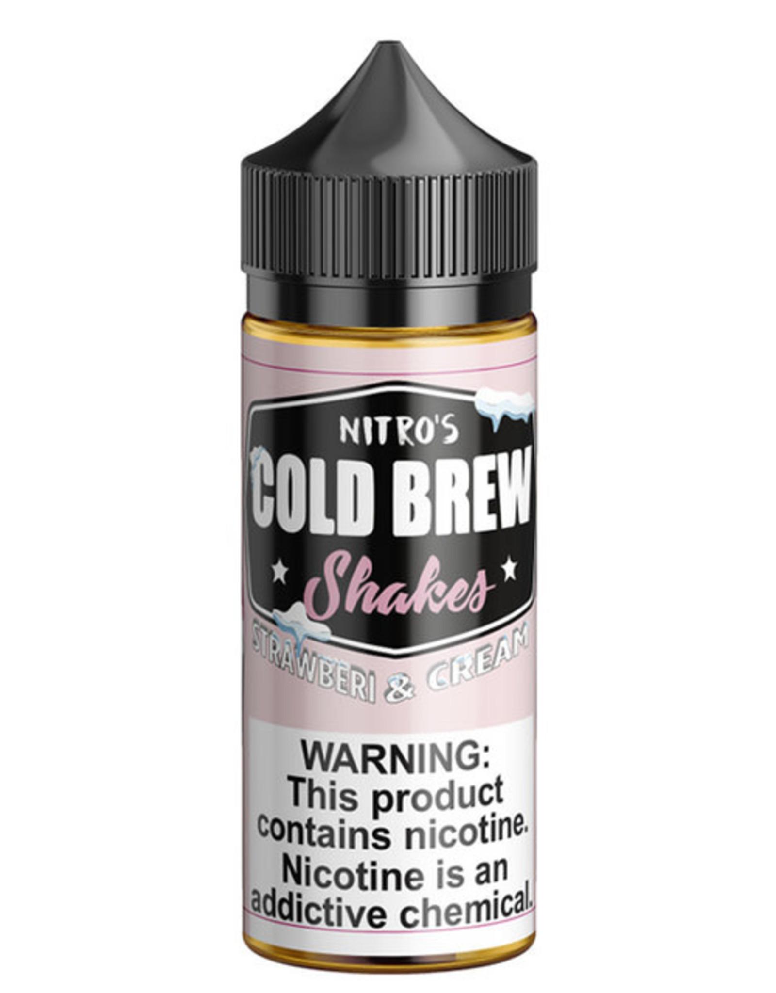 Cold Brew Cold Brew - Strawberry & Cream 100ml