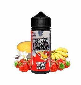 Moreish Puff Moreish As Flawless - Strawberry Banana 100ml