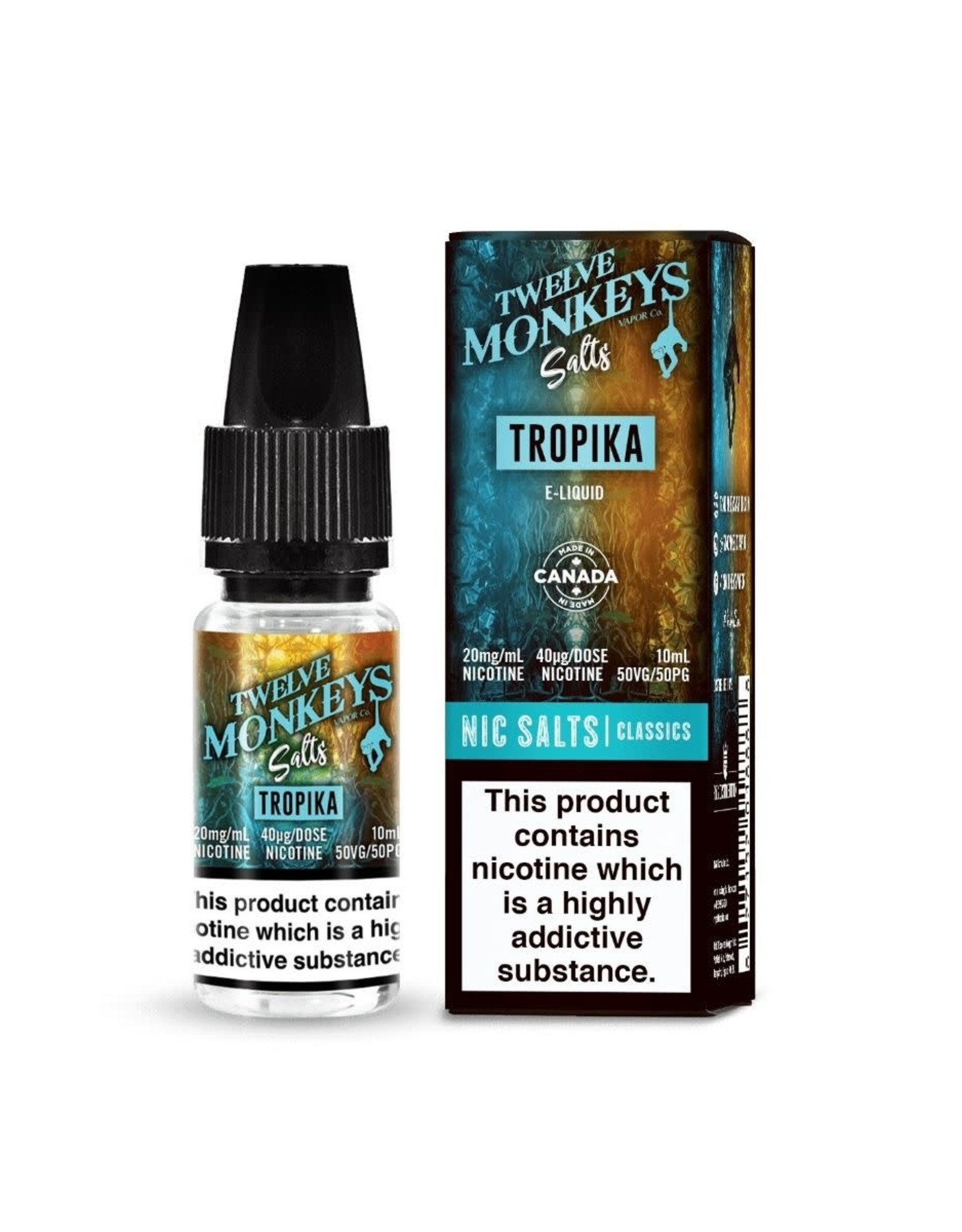 12 Monkeys Twelve Monkeys - Tropika 10ml 20mg