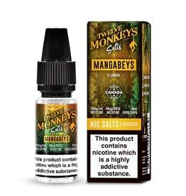 12 Monkeys Twelve Monkeys - Mangababes 10ml 20mg