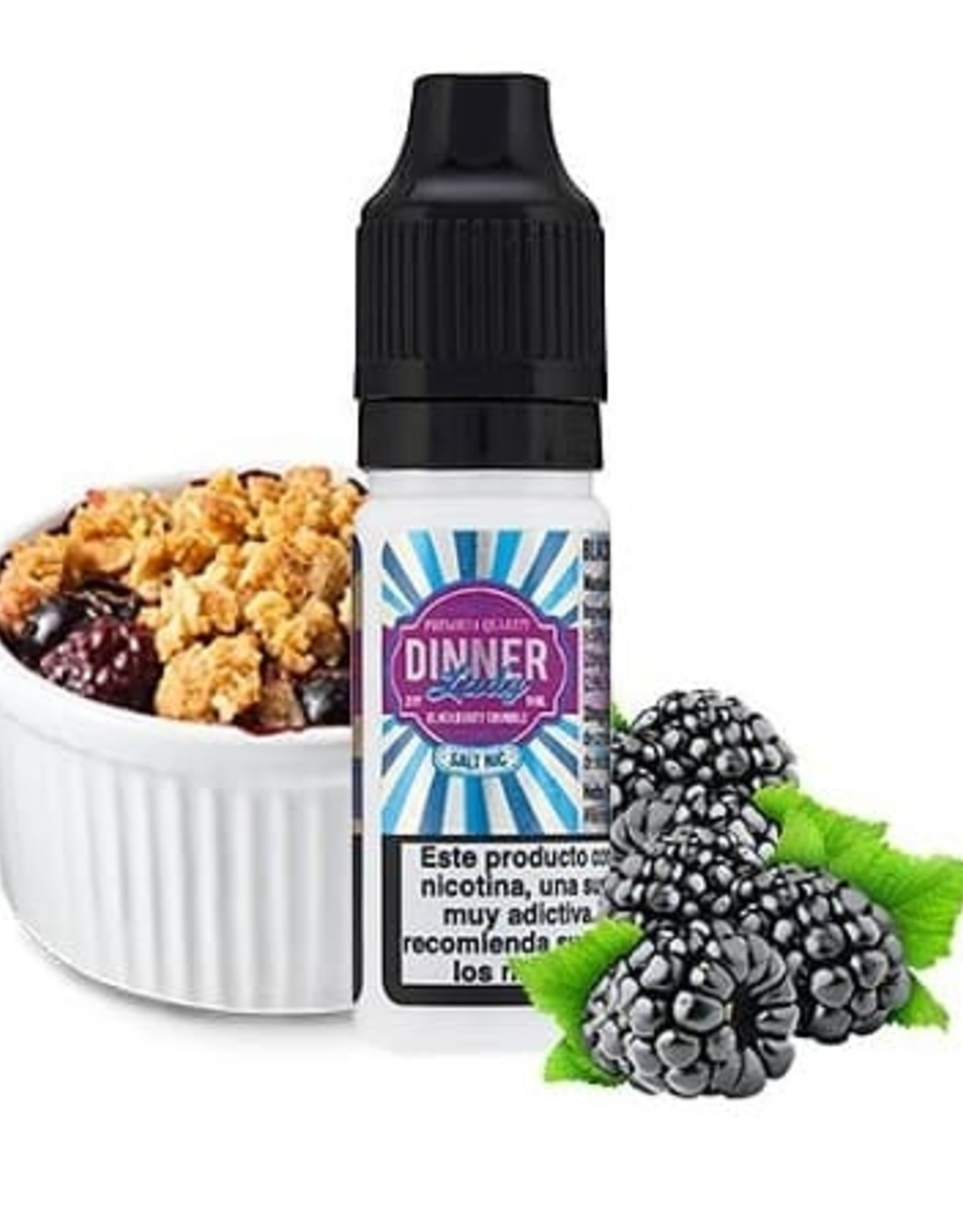 Dinner Lady Dinner Lady - Blackberry Crumble 10ml 20mg