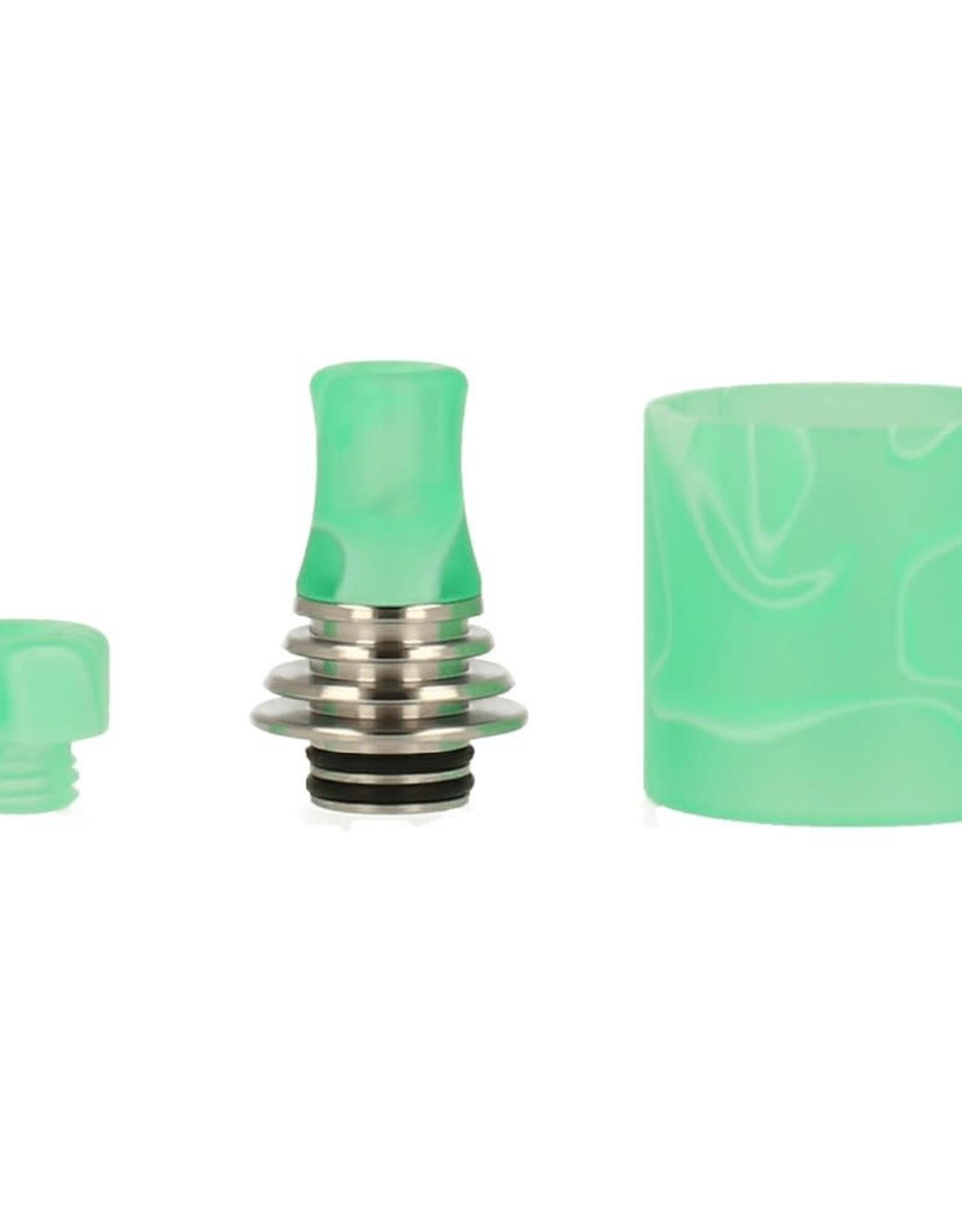 VapeFly Vapefly Brunhilde MTL RDTA  Resin DripTip Set & Glas