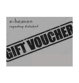 e-heaven e-heaven Geschenk Gutscheine