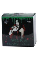 Demon Killer Demon Killer Ni80 Wick & Flame Coils