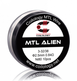 Coilology Coilology MTL Alien Ni80 Coils