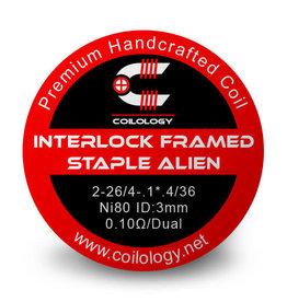 Coilology Coilology Handmade Interlock Framed Staple Alien Coils