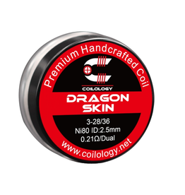 Coilology Coilology Handmade Dragon Skin Coils