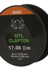 Spider Vape Spider Vape MTL Clapton Ni80 Draht