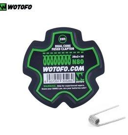 WoToFo WoToFo Dual Core Fused Clapton Wire