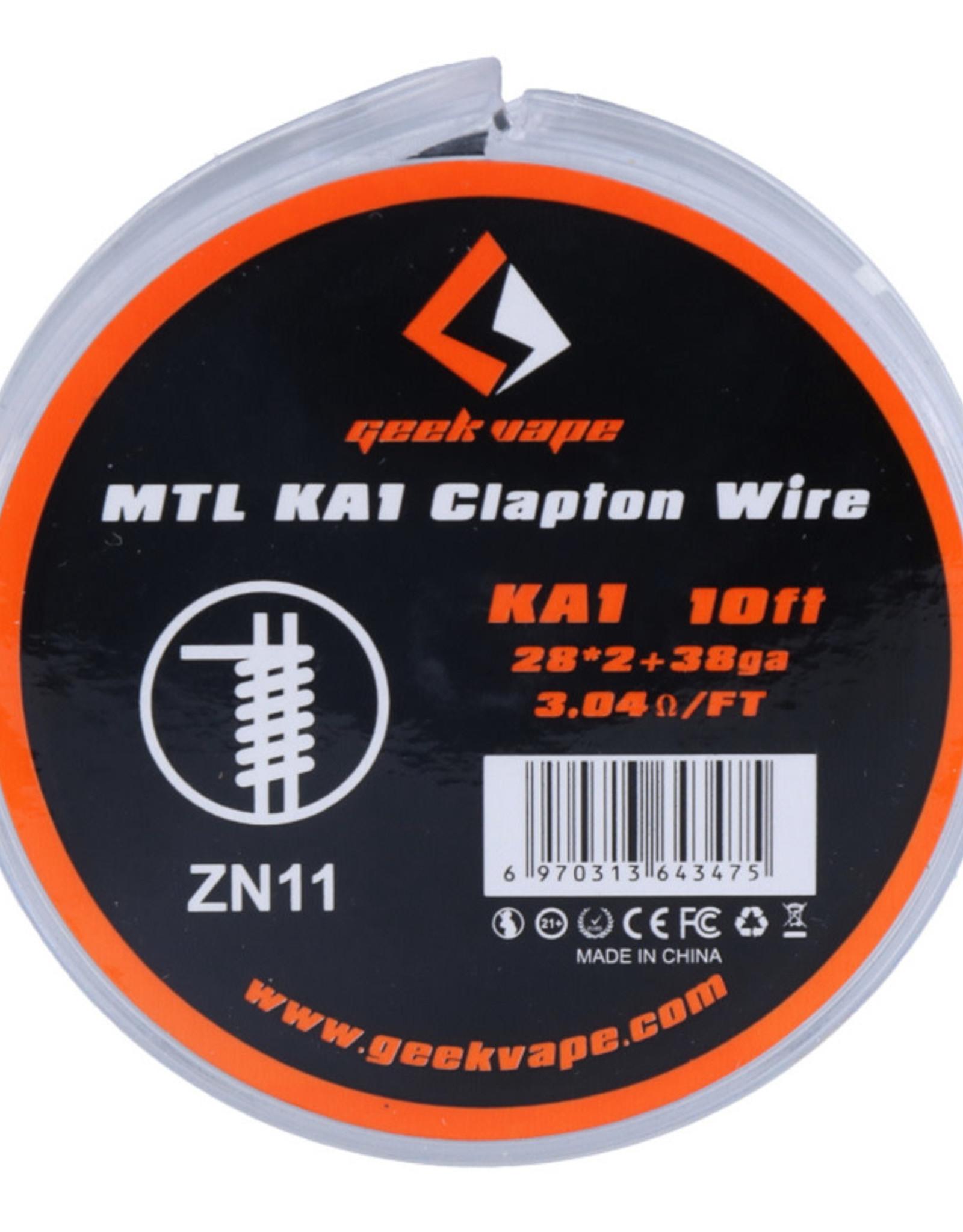 Geek Vape Geek Vape MTL KA1 Clapton Wire (ZN11)