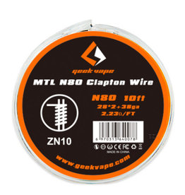 Geek Vape Geek Vape MTL N80 Clapton Wire (ZN10)