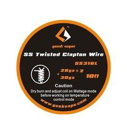Geek Vape Geek Vape SS316L Twisted Clapton Wire