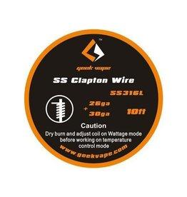 Geek Vape Geek Vape SS316L Clapton Wire (ZS09)