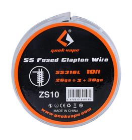 Geek Vape Geek Vape SS316L Fused Clapton Wire (ZS10)