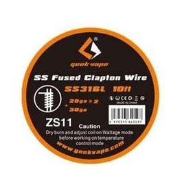 Geek Vape Geek Vape SS316L Fused Clapton Wire (ZS11)