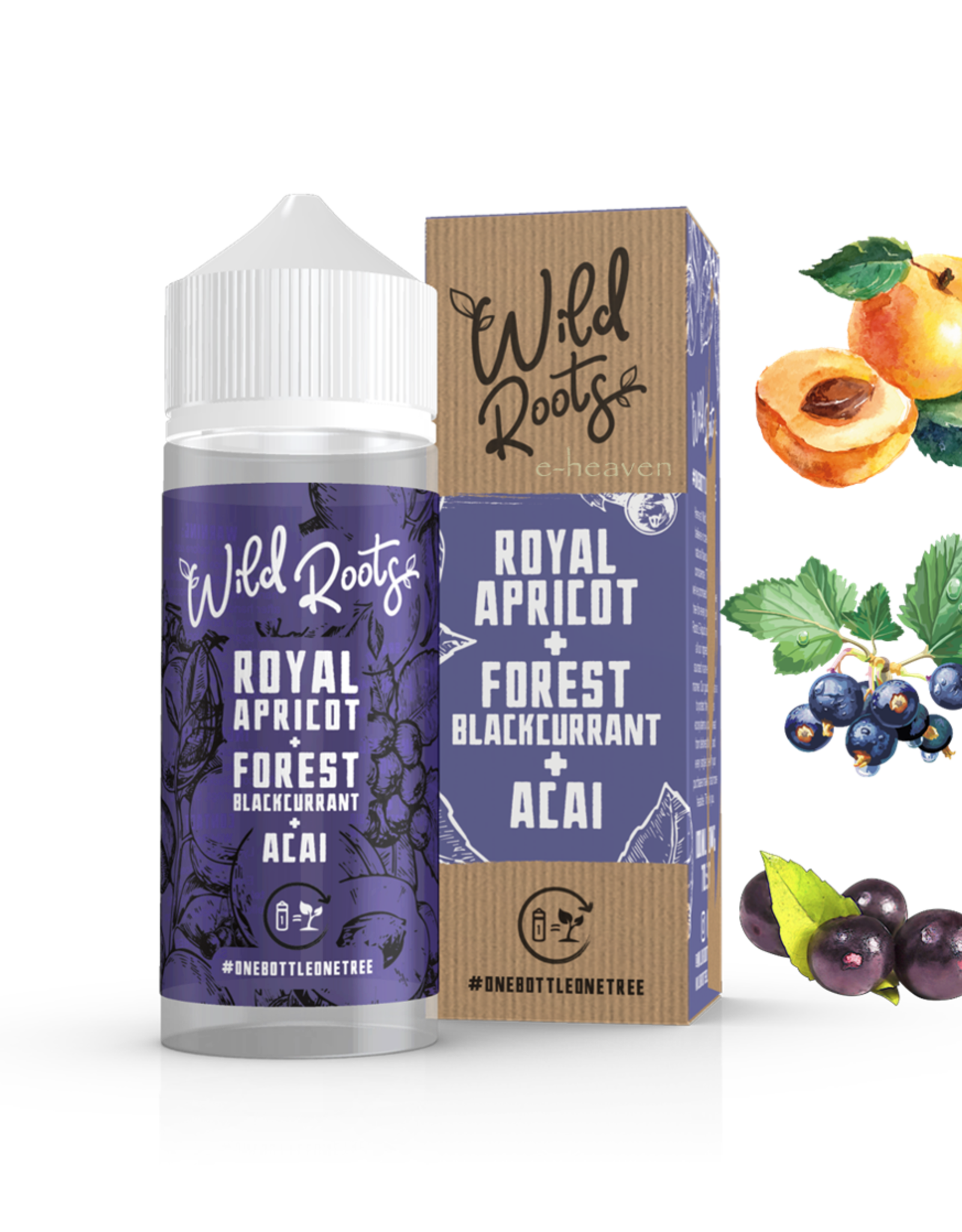 Wild Roots Wild Roots - Royal Apricot + Blackcurrant + Acai 100ml