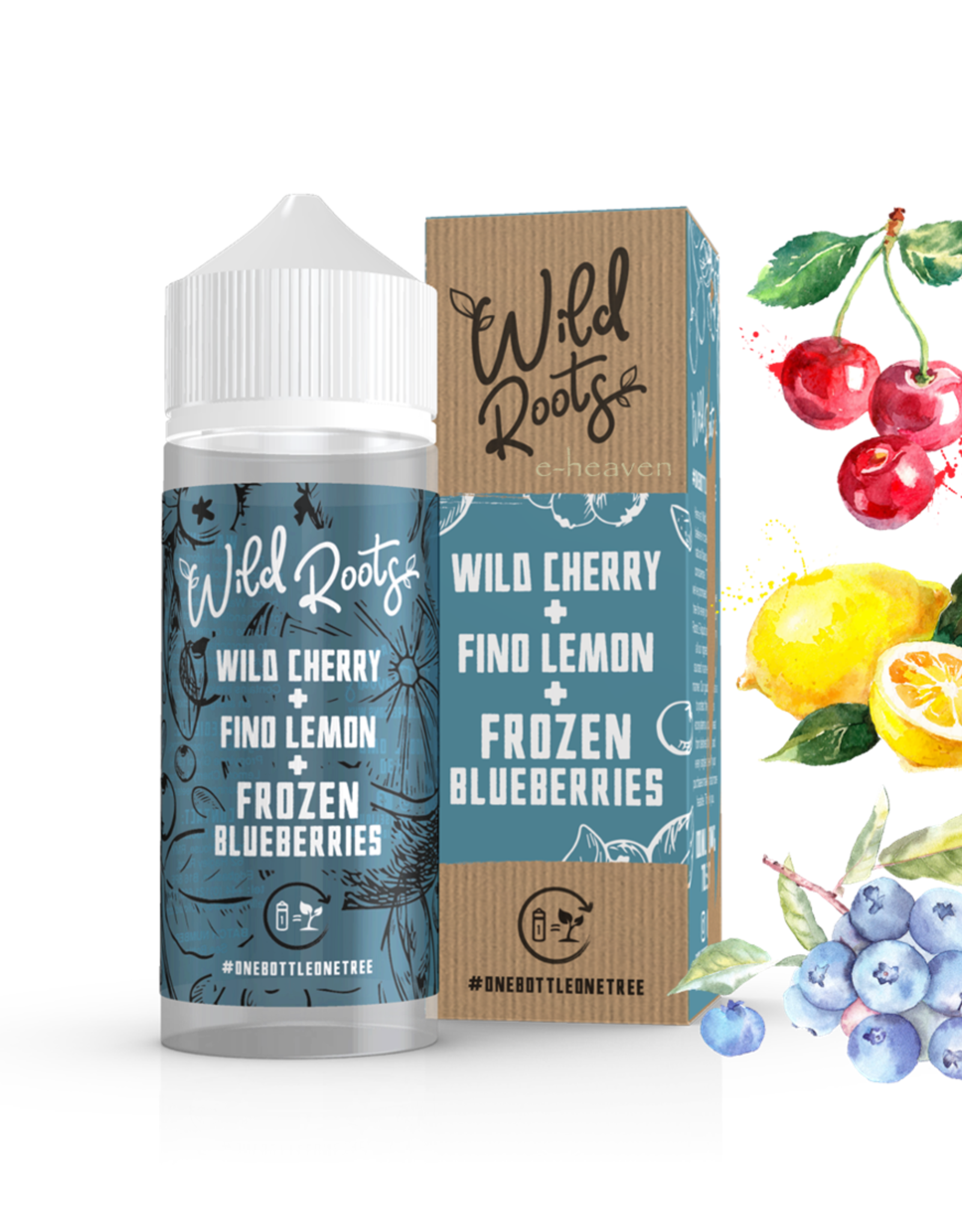 Wild Roots Wild Roots - Wild Cherry + Lemon + Frozen Blueberries  100ml