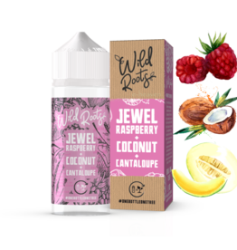 Wild Roots Wild Roots - Jewel Raspberry + Coconut + Cantalope 100ml