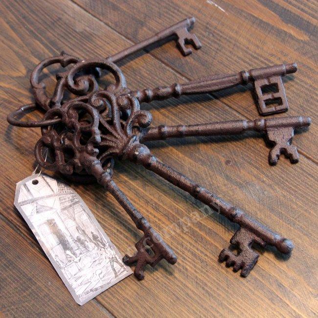 Antieke sleutelbos